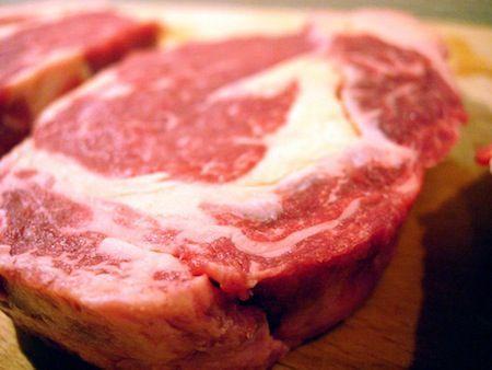 La carne de ternera