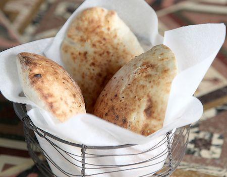 Pan de pistachos