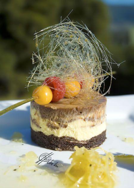 Cheesecake con crema de Nutella