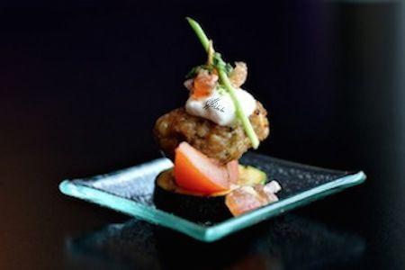 Semifrito de Kobe con Tártara de Trigueros