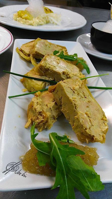 Terrina de foie con manzana y mermelada de cebolla (de mis platos favoritos)