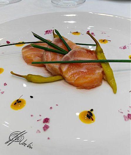 Mi-cuit de salmón casero