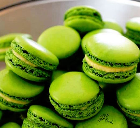 Macarons de mojito