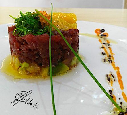 Tartar de atún rojo, mi receta favorita