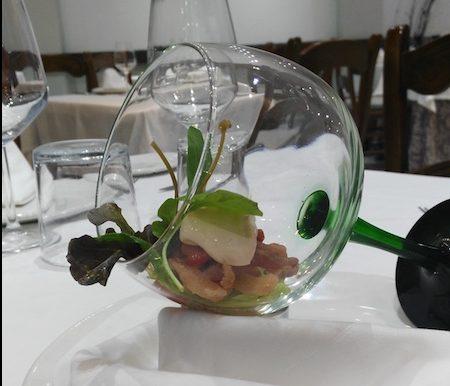 Cóctel de salmón