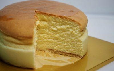 Tarta de queso japonesa al horno