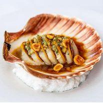 Sashimi de vieira